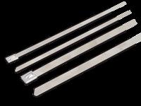 Kabelska vezica, jeklo