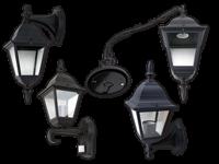 Zunanja stenska svetilka z okovom E27