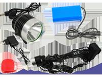 LED naglavne in kolesarske svetilke