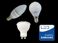 LED žarnice s čipom SAMSUNG