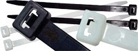 Kabelska vezica 290 x 4.8 mm črna, PA 6.6
