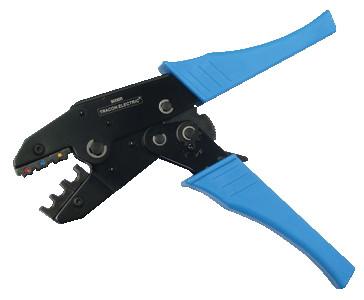 Klešče za stiskanje izoliranih kabelskih čevljev 2,5-6 mm2, 225 mm