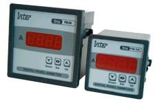 Digitalni ampermeter za posredno (trafo) merjenje+rele izhod 72×72mm, 5A AC