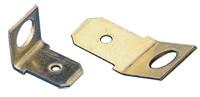 Z vijakom pritrjen vtični kontakt 6,3x0,8 mm 45°, M4