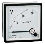 Analogni voltmeter za enosmerno napetost, 72×72mm, 250V DC