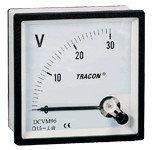 Analogni voltmeter za enosmerno napetost, 96×96mm, 30V DC
