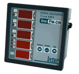 Digitalni multimeter 96x96 mm z rele izhodom