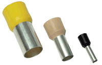 Izolirana votlica 1,5 mm2, L=14,2 mm, črna