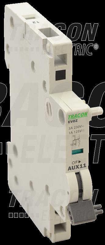 Pomožni kontakt k odklopniku tipa EVOTDA 230V, 50Hz, In:6A W=9mm; 0,5-4mm2