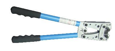 Klešče za stiskanje neizoliranih kabelskih čevljev 6-50 mm2