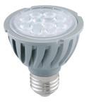 Power LED žarnica 230VAC, 5 W, 2700 K, E27, 300 lm, 90°