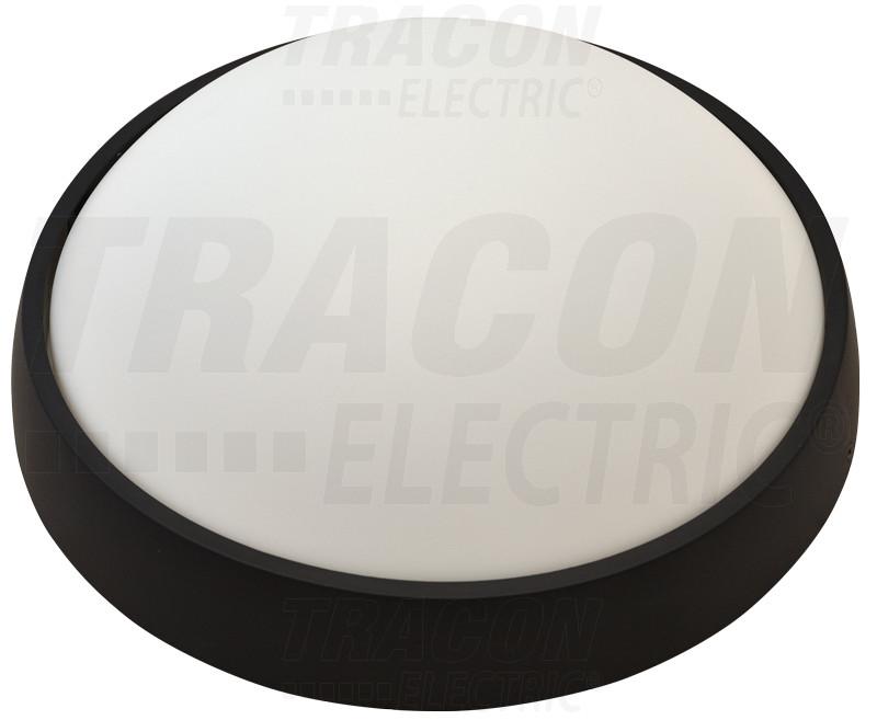 LED ladijska svetilka-plastična, okrogla, brez mreže 230 V, 50 Hz, 15 W, 1050 lm, 4000 K, IP54, EEI=A
