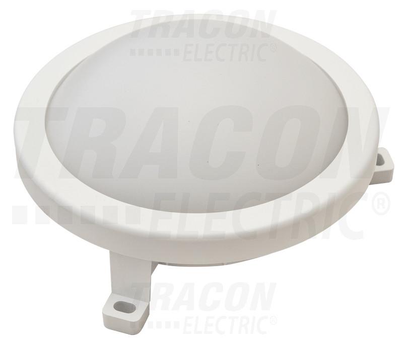 LED ladijska svetilka-plastična, ovalna 230 V, 50 Hz, 12 W, 840 lm, 4000 K, IP54,EEI=A