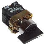 Stikalo z ročajem, z dvojno pozicijo, 1×NO, 3A/230V AC, IP42