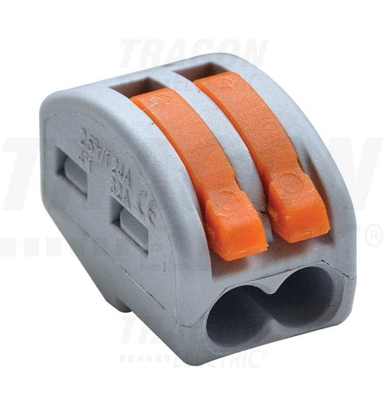 Vzmetna sponka 2,5mm2,32A, 400V