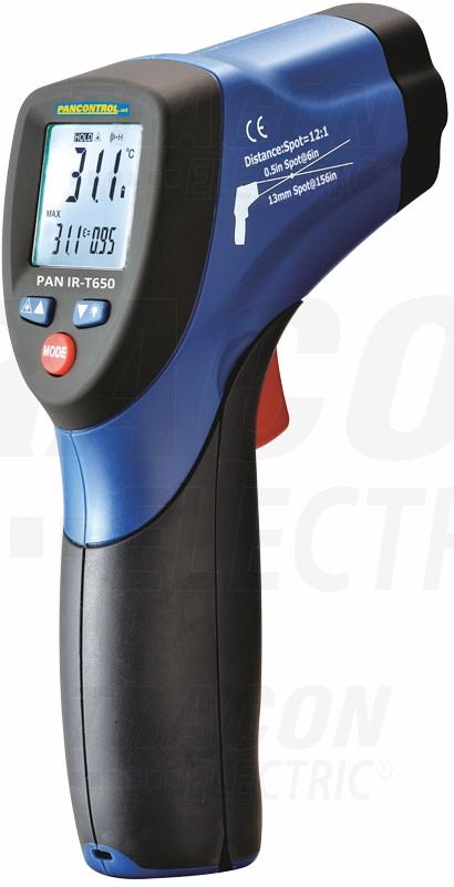 Infrardeč termometer -40°C..+650°C