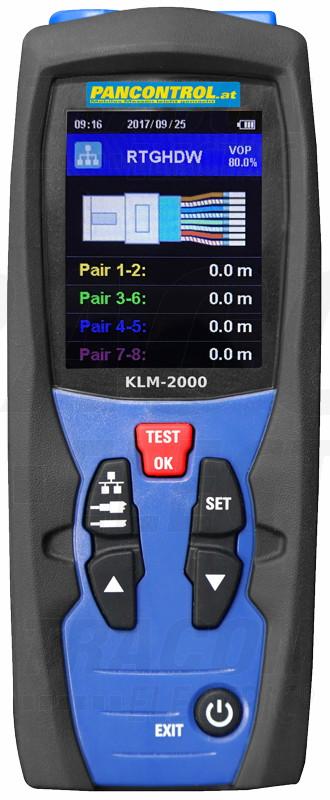 Digitalni merilnik dolžine kabla 5-2000 M