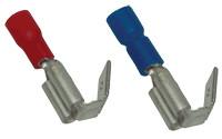 Natično vtični kontakt 1,5mm2, 6,3x0,8 mm, rdeč