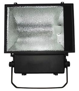 Kovinski halog. reflektor z dušilko 400W, E40, simetrični