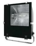 Metal-halogen reflektor z dušilko, asimetrični, 230V, 50Hz, E40, max. 400W