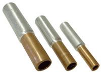 Cu-Al vezni tulec 35/50 mm2, d1=8,5 mm, d2=10 mm