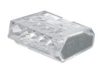 Hitra sponka brez vijaka 5x1-2,5 mm2, prozorna
