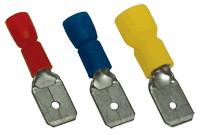 Vtični kontakt 6 mm2, 6,3x0,8 mm, rumen