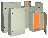 Kovinska razdelilna omara IP55 600x500x200 mm
