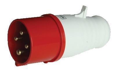 Industrijski vtikač 32A, 400V, 3P+E, IP44