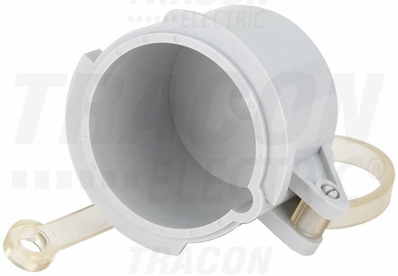 Vodoodporna kapa za vtikač TICS-0152H.. (16A,5P) d=57,5mm, IP67