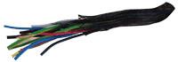 Plastična kabelska mreža za kable, 25 mm