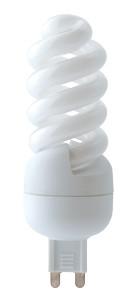 Varčna žarnica, spirala, T2, G9, 9W, 2700K, 450lm, 8000h