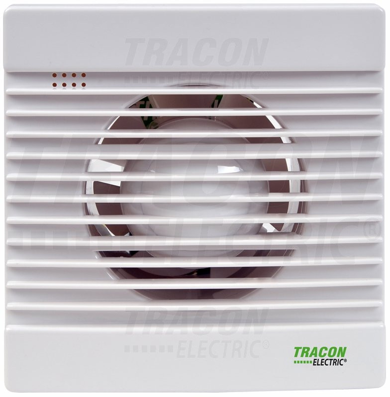 Ventilator za kopalnico (kroglični ležaj + timer + loputa) 230 VAC, 15 W, 80 m3 / h, 33 dB, 100 mm