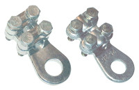 Vijačni bakreni kabelski cevni čevelj 70-95 mm2, d2=13 mm