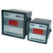 Digitalni ampermeter za neposredno merjenje izmeničnega toka 72×72mm, 50A AC