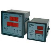 Digitalni amper- in voltmeter, 0-500 V, 0-9500 A, 96x96 mm