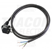 Napajalni kabel H05VV-F, 3×1,0mm2, 2m, IP20