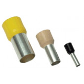 Izolirana votlica 10 mm2, L=27,5 mm, krem