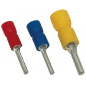 Izolirani igličast kontakt 2,5 mm2, l1=12 mm, d1=2,3 mm, moder
