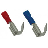 Natično vtični kontakt 2,5 mm2, 6,3x0,8 mm, moder