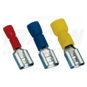 Izolirani natični kontakt – podaljšan 2,5 mm2, 4,8x0,5 mm, moder
