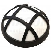 LED ladijska svetilka-plastična, okrogla, z mrežo 230 V, 50 Hz, 15 W, 1050 lm, 4000 K, IP54, EEI=A