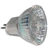 LED žarnica, MR16, 12V 1,2 W 18LED, bela, G5.5