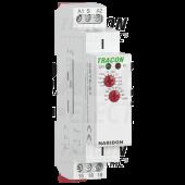 Enostopenjski rele za zakasnjen vklop AC/DC 12-240V, 0,1s-10d, 16A/AC1, 250VAC/24VDC