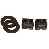 Odpiralni kontaktni element tipke, 400 V/ 3 A