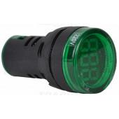 Merilnik napetosti z LED signalno svetilko, zelen 24-500VAC, d=22mm