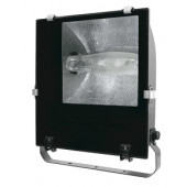 Kovinski halog. reflektor z dušilko 70W, E27, asimetrični