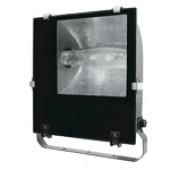 Metal-halogen reflektor z dušilko, asimetrični, 230V, 50Hz, Rx7s, max. 150W