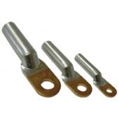 Cu-Al očesni kabelski čevelj 50 mm2, d1=9,5 mm, d2=10,5 mm