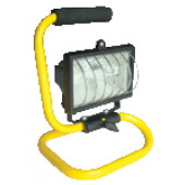 Prenosni halogenski reflektor s podstavkom R7s, 150 W, 78 mm, IP